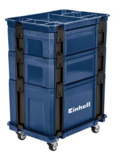 Einhell Systemkofferset Stapelboxen-Set