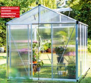 Gardenline Premium-Gewächshaus