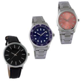 Krontaler Quarz-Armbanduhr
