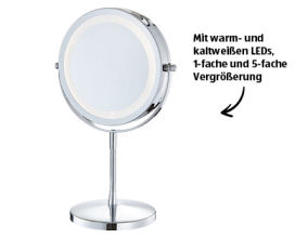 Lacura Beleuchteter Kosmetikspiegel Modell 2