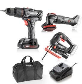 Matrix Trinity Profi-Akku-Werkzeug-Set im Angebot » Norma 10.2.2020 - KW 7