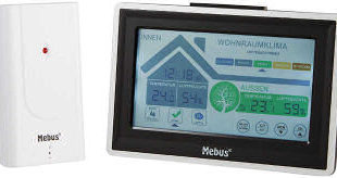 Mebus 48407 Digital Funk-Wetterstation