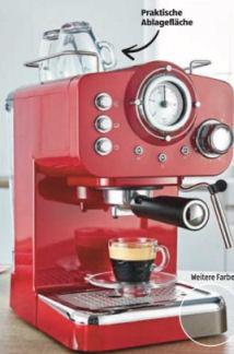 Ambiano Espresso-Maschine im Angebot bei Aldi Süd 18.6.2020 - KW 25