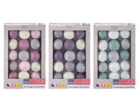Casa Deco Textilkugel-Lichterkette, Frühlingszweige und Echtwachskerze im Angebot bei Aldi Süd 6.4.2020 - KW 15
