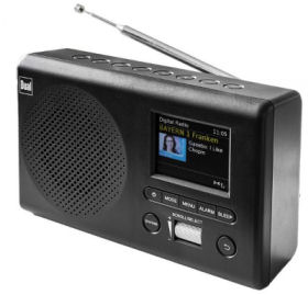 Dual MCR 4 Portables Digital-UKW-Radio