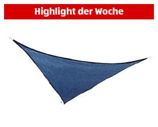 Sonnensegel Mit LED Beleuchtung Licht, Wasserdicht Polyester