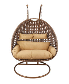 Home Deluxe Twin Hängesessel Polyrattan