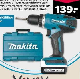 Netto 30.4.2020: Makita DF347DWE Akku-Bohrschrauber im Angebot