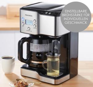 Progress Kaffeemaschine mit Heißwasserspender im Angebot bei Penny 16.4.2020 - KW 15