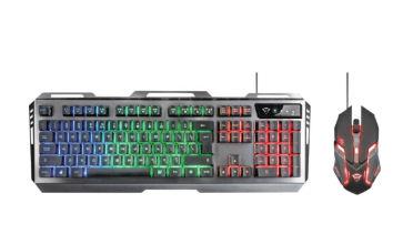 Trust GXT 845 Tural Gaming-Keyboard Set im Angebot bei Real 14.4.2020 - KW 16