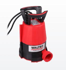 Netto 20.4.2020: Walter Klarwasser Tauchpumpe im Angebot