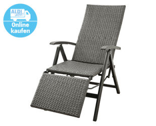 Gardenline Geflecht-Relaxsessel
