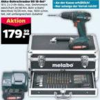 Metabo BS 18 Akku-Bohrschrauber-Set im Angebot bei Netto 18.5.2020 - KW 21