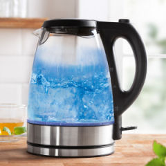 Cook O'Fino LED-Glaswasserkocher 2200 Watt