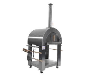 FireKing Roma Edelstahl Pizzaofen
