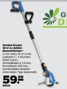 Garden Dream 18-V Akku-Rasentrimmer