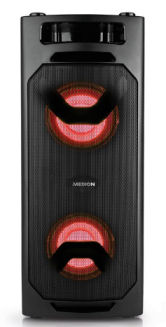 Medion P61960 Bluetooth-Party-Soundsystem