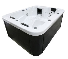 Home Deluxe White Marble Outdoor Whirlpool
