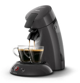 Philips Kaffee-Padautomat Original Eco HD 6552 35