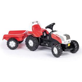 Rolly Toys Trettraktor Steyr mit Anhänger