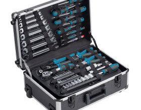 Bild von Workzone Werkzeugtrolley 128-teilig im Angebot bei Aldi Nord + Aldi Süd 7.12.2020 – KW 50
