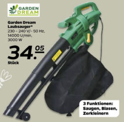 Garden Dream Laubsauger