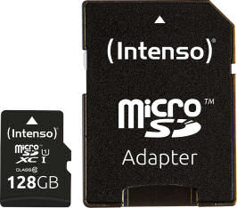 Intenso Micro-SDHC-Speicherkarte UHS-I 128GB