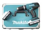 Makita HP457DWEX4 Akku-Schlagbohrschrauber im Angebot bei Aldi Nord + Süd 31.8.2020 - KW 36