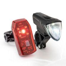 Bikemate LED-Fahrrad-Lampenset