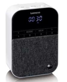Lenco PPR-100WH Steckdosenradio