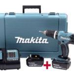 Real 7.9.2020: Makita DHP453SFE Akku-Schlagbohrschrauber im Angebot