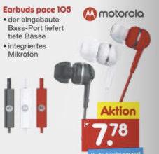 Photo of Netto 28.9.2020: Motorola Earbuds Pace 105 Kopfhörer im Angebot