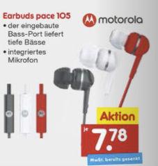 Motorola Earbuds Pace 105 Kopfhörer