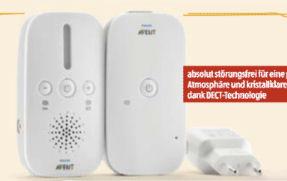 Bild von Philips Babyphone Avent SCD502/26 im Angebot bei Hofer 8.10.2020 – KW 41