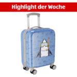 Aldi Süd 14.9.2020: Royal Class Travel Line Hartschalen-Trolley für Kinder im Angebot