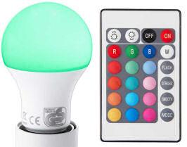 Switch On LED-Birne RGB E27