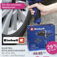 Bild von Einhell BC-ESS 450 Elektro-Schlagschrauber im Angebot bei Kodi 5.10.2020 – KW 41