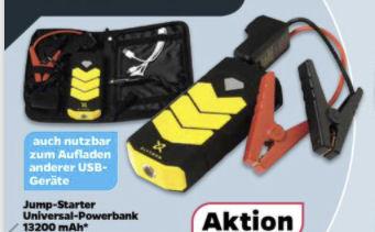 Jump-Starter Powerbank 13200 mAh