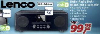 Lenco DAR-061BK DAB+ Radio