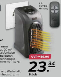 Livington Handy Heater Mini-Heizung Deluxe