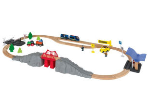 Playtive Eisenbahn-Set 54-teilig