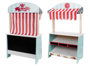 Playtive Junior 2 in 1 Marktstand Theater
