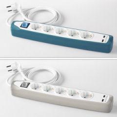 PowerTec Electric Design-Steckdosenleiste