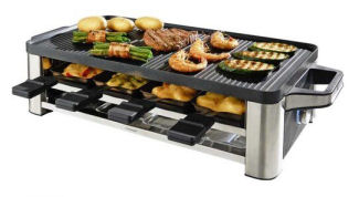 WMF Lono Raclette-Grill mit LED-Beleuchtung