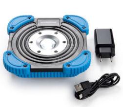Bild von Workzone Akku LED-Arbeitsstrahler 10 Watt im Angebot bei Hofer 8.10.2020 – KW 41