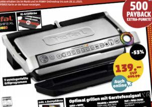 Tefal Optigrill+ XL GC 722D