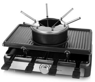 Emerio RG-124930 Raclette-Fondue-Set
