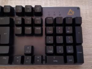 Aukey KM-G12 Gaming Tastatur Nummernblock