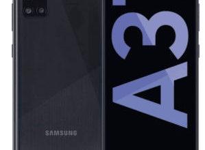 Bild von Samsung Galaxy A31 A315G Smartphone bei Real 11.1.2021 – KW 2