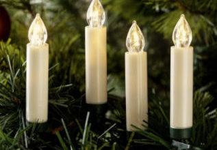 i-Glow 15 Kabellose LED-Weihnachtskerzen